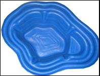 Пруд пластиковый 190 литров