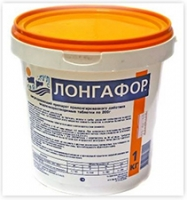 Лонгафор (таблетки 200 г) 1 / 2,6 / 5 / 30 кг для длительной дезинфекции воды