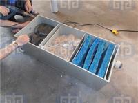 Проточные фильтр до 6м3 для прудов с рыбой из полипропилена с 3 отсеками