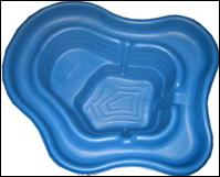 Пруд пластиковый 270 литров