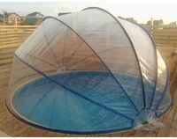 Павильон для бассейна круглой формы, материал ПВХ